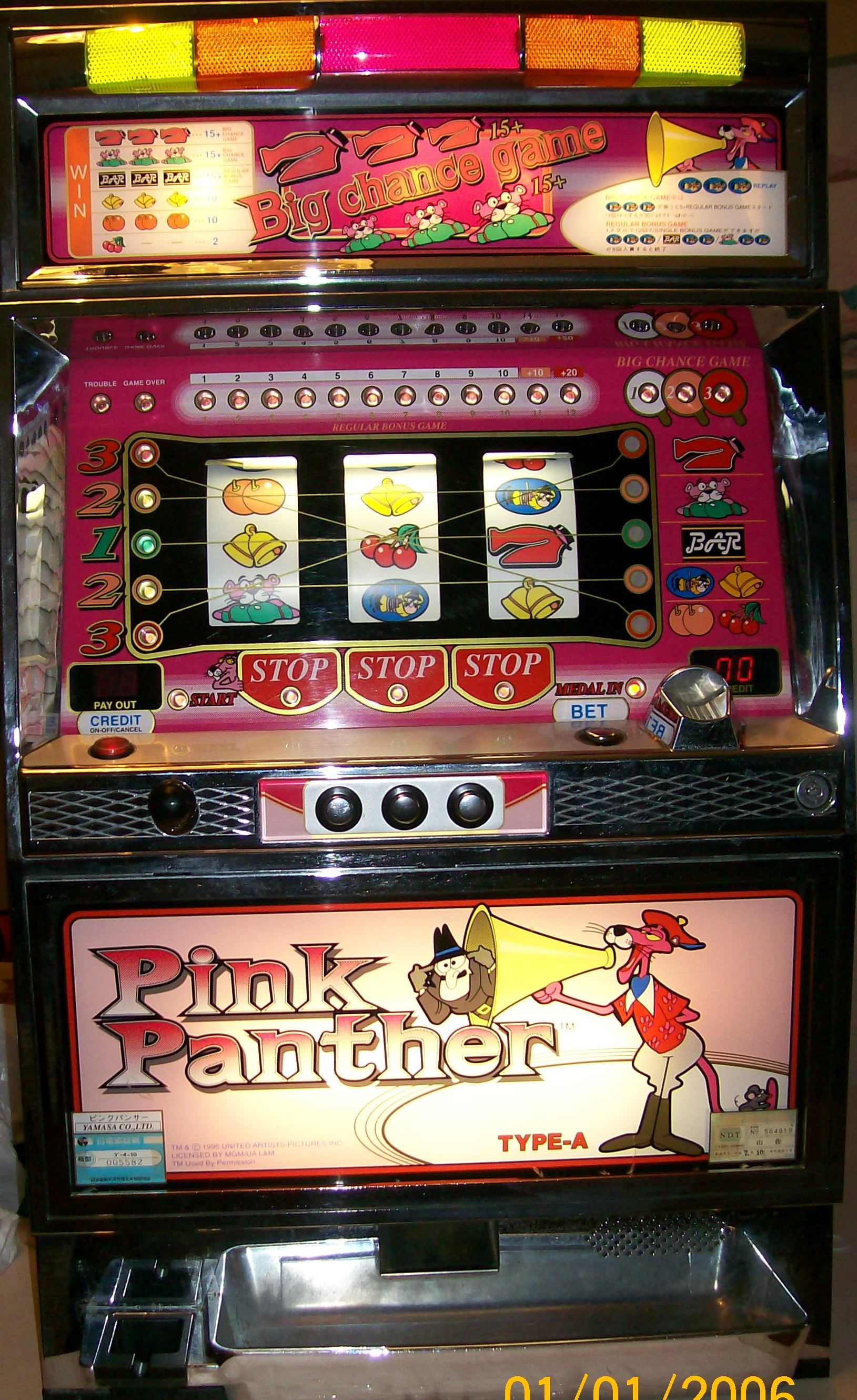 Pink panther slot machines hollywood casino penn national restaurants