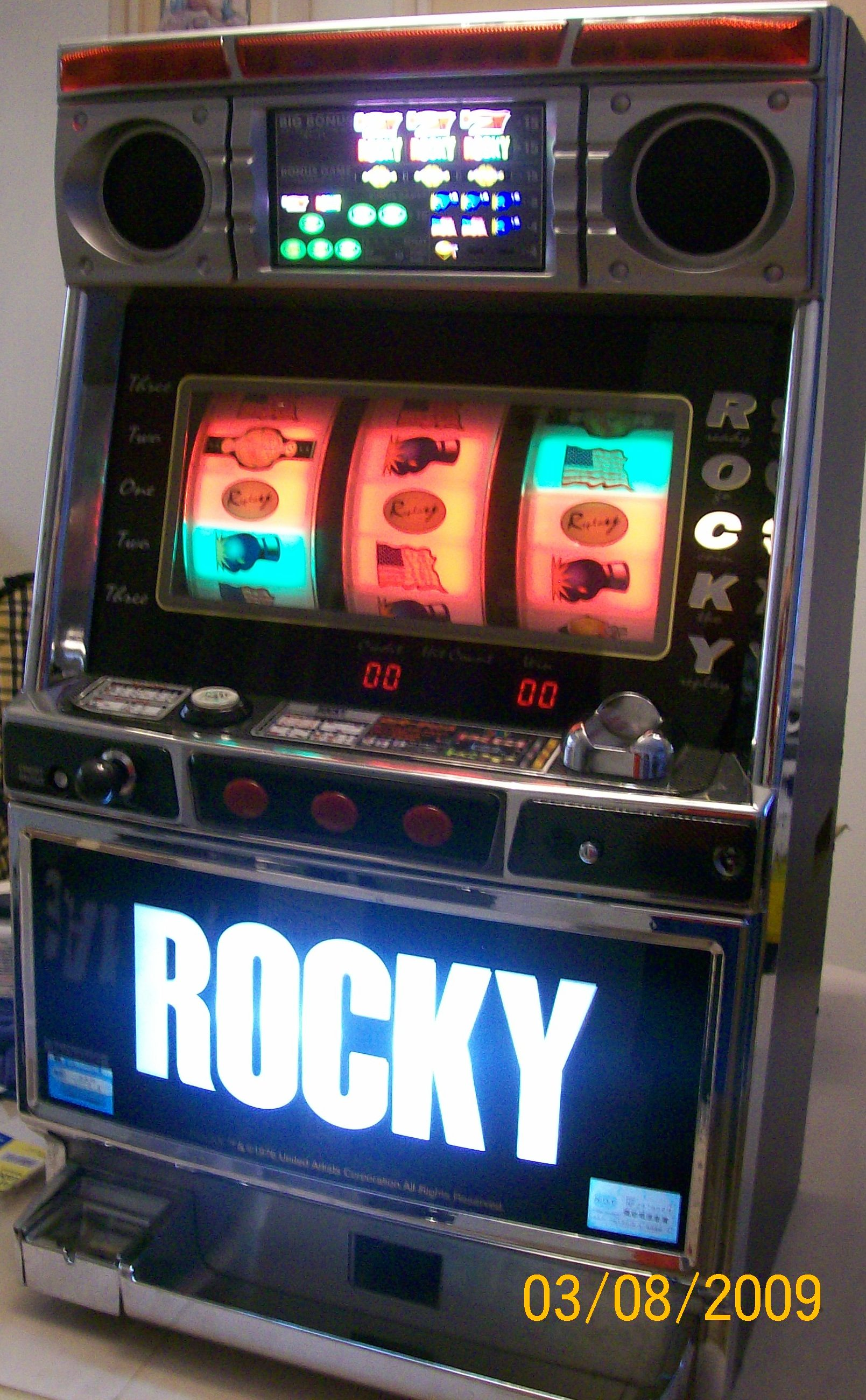 Rocky Slot Machine